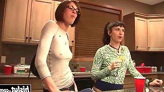 Lucky guy gets to bang a hot friend segment segment 1