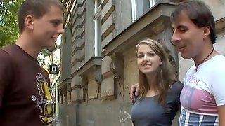 18videoz - Abigaile Johnson - Sex for cash turns shy girl into a slut