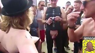 Public masturbating public sex