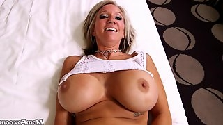 Penis For Full-Breasted housewife