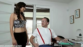 Jade Amber is often having casual sex with her married neighbor, and enjoying it a lot